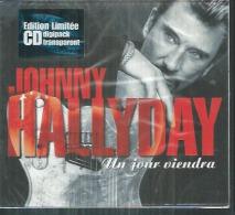 "CD  JOHNNY HALLYDAY  "" UN JOUR VIENDRA ""  Maxi ( Sous Blister ) - Musik & Instrumente"