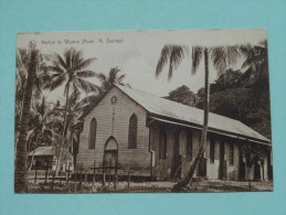 Kerkje Te WAIMA N. Guinea - Missiezusters Opwijck Brabant - Anno 19?? ( Zie Foto Voor Details ) !! - Guinea
