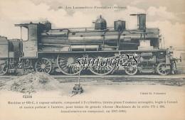 LES LOCOMOTIVES FRANCAISES (Orleans) - N° 69 - MACHINE N° 193-C A VAPEUR SATUREE COMPOUD A 2 CYLINDR (SERIE 171 A 264 ) - Trains