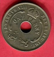 BRITISH WET AFRICA 1 PENNY  1936  TTB 9 - Nigeria