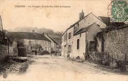 GRIGNON HAMEAU LES GRANGES GRANDE-RUE COTE DE GRIGNON EN 1907 - France