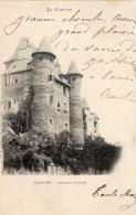 UZERCHE CHATEAU PONTIE CARTE PRECUSEUR DE 1902 - Uzerche