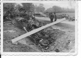 Pologne Russie Opération Barbarossa Chars Russes T34 Cadavres De Soldats Russes 1 Photo 1939-1945 39-45 Ww2 WwII Wk - War, Military