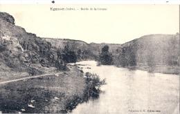 EGUZON Bords De La Creuse écrite TTB - France
