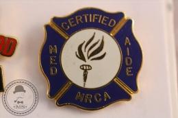 Med Certified Aide Mrca - Medical Pin Badge - #PLS - Medical