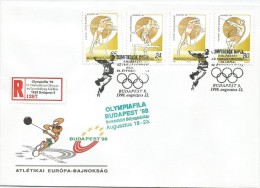 Hungarian Olympic Champions In London Special Cover OLYMPIAFILA Olympic Exhibition `98. - Olympische Spelen