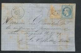 DEVANT N� 29+N�36 COUPE EN 2 +7000� NESLE 30/SEPT/1871 TB SIGNE SCHELLER