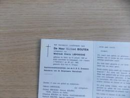 Doodsprentje Norbert Bouten Ieper 13/1/1936 Campagne Les Hesdin (FR) 28/7/1992 ( Odette Liefooghe ) - Religione & Esoterismo