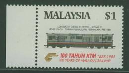 Malaysia 1985 Mi 306 YT 319 ** Locomotive Diesel Electric – Class 23 ( 1983) - Cent. Malayan Railways / Eisenbahn - Treinen