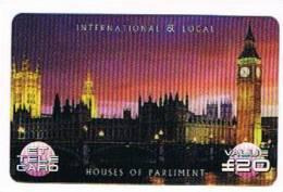 GRAN BRETAGNA - UNITED KINGDOM - REMOTE ET   -  HOUSES OF PARLIAMENT - USED -  RIF. 6832 - Non Classificati