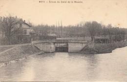 Thematiques 57 Moselle Metz Ecluse Du Canal De La Moselle - Metz