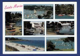 29 COMBRIT STE-MARINE Le Port ; Chalutiers, Canots, Yachts, Voiliers 7 Vues - Combrit Ste-Marine