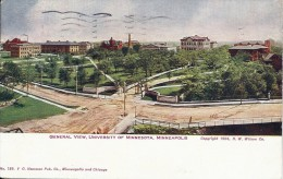 ETATS UNIS  - GENERAL VIEW, UNIVERSITY OF MINNESOTA, MINNEAPOLIS - Minneapolis