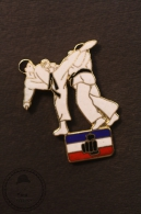 Fighting/ Martial Arts - Judo/ Tae Kwon Do/ Karate - Pin Badge - #PLS - Judo