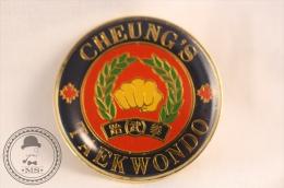Martial Arts - Cheung´s Tae Kwon Do  - Fighting Pin Badge - #PLS - Judo