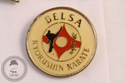 Martial Arts - Belsa Kyokushin Karate - Fighting Pin Badge - #PLS - Judo