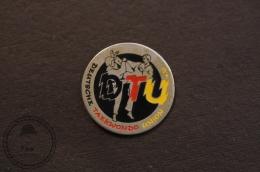 Martial Arts - Deutsche/ Germany  TaeKwonDo Union - Fighting Pin Badge - #PLS - Judo