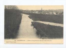 Landerneau. L'Elorn Et Vue Générale Du Quartier Saint-Houardon. - Landerneau