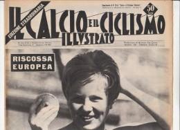 PFU/43 IL CALCIO E IL CICLISMO ILLUSTRATO-SPECIALE OLIMPIADI ROMA 1960/INGRID KRAMER - Libros
