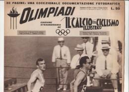 PFU/44 IL CALCIO E IL CICLISMO ILLUSTRATO-SPECIALE OLIMPIADI ROMA 1960/LIVIO BERRUTI - Libri