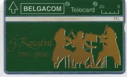 ROSSINI  Violonistes  Orchestre De Chambre  Tele Carte  De Belgique En Bon état - Musik