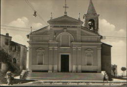 MONTE LIBRETTI ROMA CHIESA MADONNA DEL CARMELO VG. 1955 - Italy