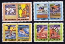 St Vincent - 1984 - Leaders Of The World/Olympic Games - MNH - St.Vincent (1979-...)