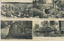 5 Cartes Neuves De La Forêt De Fontainebleau  Marquées De 1922 Au Verso - Fontainebleau