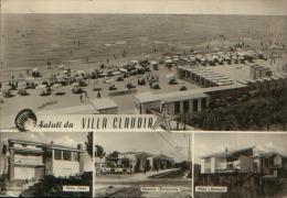 VILLA CLAUDIA ANZIO VG. VEDUTINA CON STAZIONE E TRENO - Italia