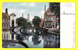 * Brugge - Bruges (West Vlaanderen) * (Dr. Trenkler Co Leipzig 1904, Nr 27 759) Grand Béguinage, Begijnhof, Pont, CPA - Brugge
