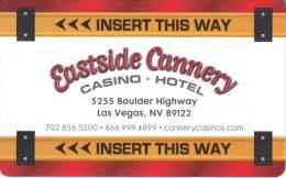 USA - Eastside Cannery, Hotel Keycard, Used - Hotel Keycards