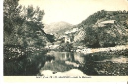 POSTAL DE SANT JOAN DE LES ABADESSES DEL MOLI MALATOSCA (MUMBRU) GIRONA - Gerona