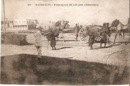 POSTAL DE DJIBOUTI DE TRANSPORTE EN CAMELLOS - Djibouti