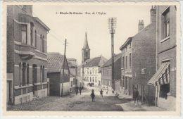 21422g RUE De L' EGLISE - Rhode-St-Genèse - Rhode-St-Genèse - St-Genesius-Rode