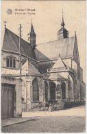 21595g PARVIS De L' EGLISE - Braine-l'Alleud - 1921 - Eigenbrakel