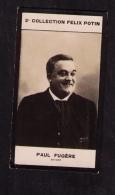 Petite Photo 2ème Coll. Félix Potin (chocolat), Paul Fugère (1851-1920), Artiste, Phot. Walery, 1907
