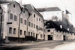 """LAMBACH, Private Fotokarte Gel.1953 Mit Postablage Stempel """"Lambach"""", Lichtbildwerkstätte Peter Kantner ... - Lambach"""