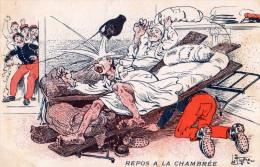 Illustrateur.Repos à La Chambrée. - Other Illustrators