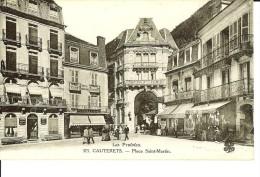 CPA -  CAUTERETS, Place Saint-Martin, Hôtel Du Parc- 9576 - Cauterets