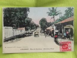 Colombo - Rue De Kotchena - Sri Lanka (Ceylon)