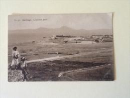 CARTHAGE L'ANCIEN PORT NON VIAGGIATA XX - Tunisia
