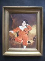 Petit TABLEAU Publicitaire CHAMBOURCY - Reproduction Sur Carton Mr LAMBTON De THOMAS LAWRENCE - Otras Colecciones