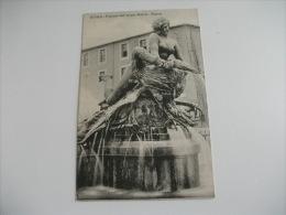 BELLE ARTI Roma Piazza Di Termini  Fontana Dell´acqua Marcia Najade Figura Decorativa Del Rutelli - Sculptures