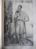 Les Biskris , Porteurs D'eau En Algérie , Tableau De H Lazerges , Gravure Guillaume Dessin Garnier 1879 Avec Texte - Documentos Históricos