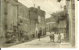 SAINT-CYR-SUR-MER CPA - Rue Principale- 9586 - Saint-Cyr-sur-Mer