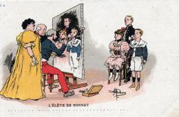 Illustrateur A.GUILLAUME.L'Elève De Bonnat.Bel Etat. - Guillaume