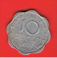 SRI LANKA -  10 Cents 1978 Circulada  KM140a - Sri Lanka