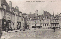 SAINT AMAND MONTROND '(CHER)  5  LA PLACE  MUTIN - Saint-Amand-Montrond