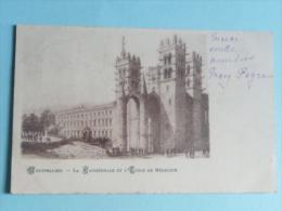 MONTPELLIER - La Cathédrale Et Ecole De Médecine - Montpellier