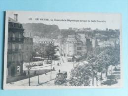 LE HAVRE - Le Cours De La République Devant La Salle Franklin - Unclassified